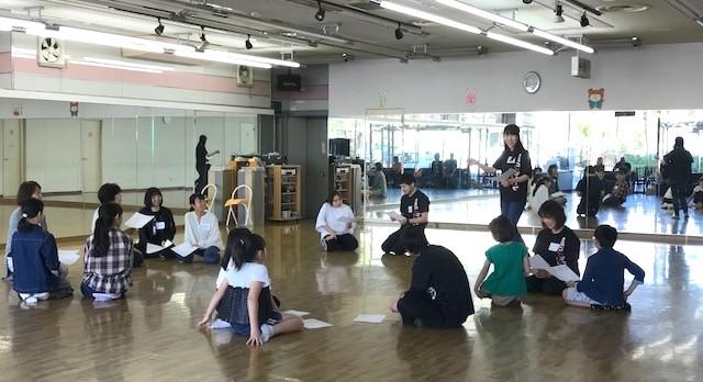 ワークショップ「〜はじめての演劇 ・基本の「き」〜」が開催されました